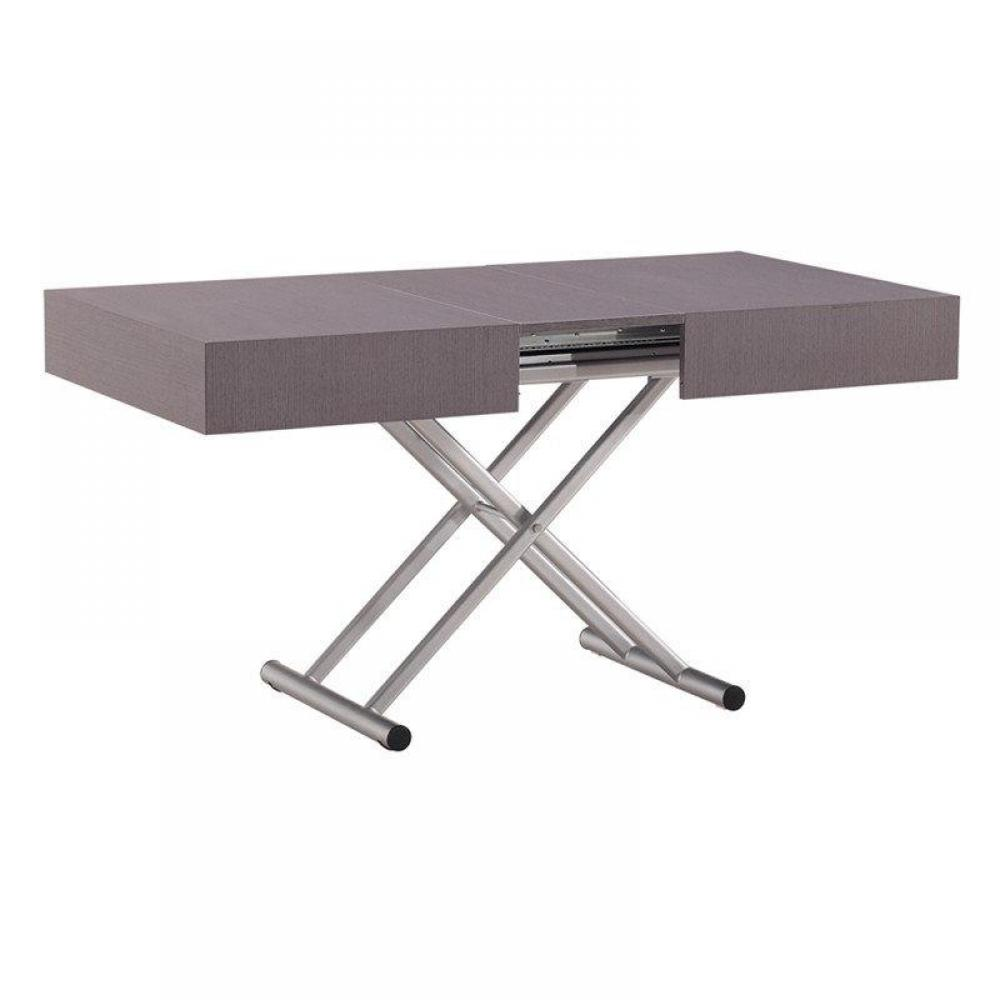 Table basse relevable extensible itaca for Table basse relevable extensible but