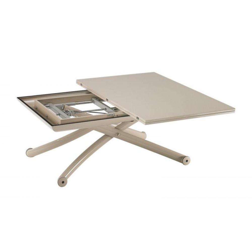 Table basse relevable extensible for Table basse relevable