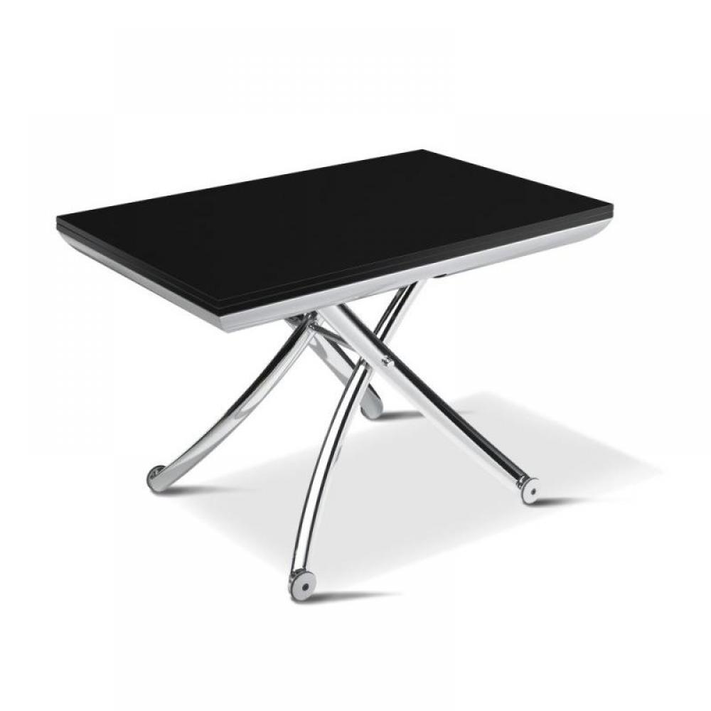 Tables relevables meubles et rangements table basse - Table basse relevable wenge ...