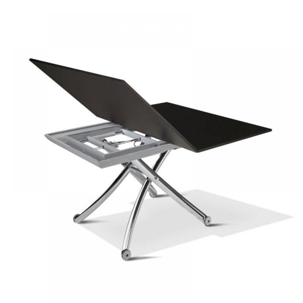 Canap s convertibles design canap s et convertibles table basse class relev - Table basse extensible relevable ...