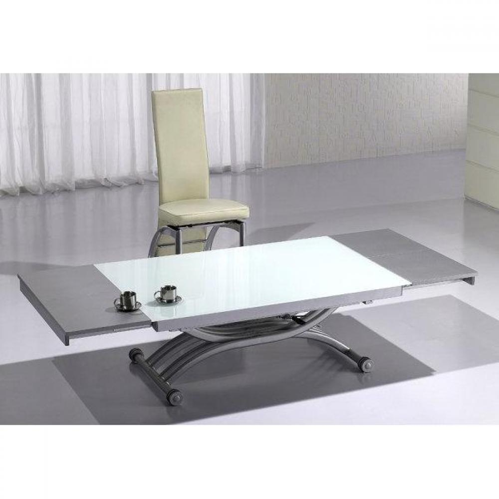 Tables relevables tables et chaises table basse form - Table basse relevable et extensible ...