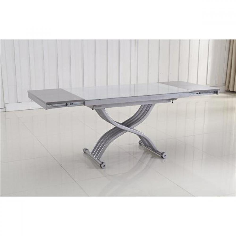 Table relevable avec rallonge - Table basse a rallonge ...