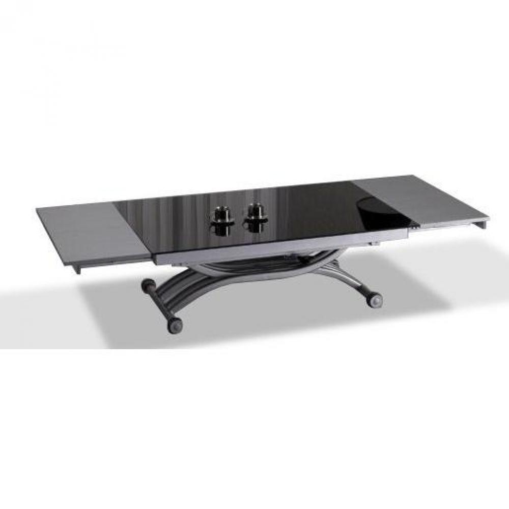 Tables basses tables et chaises table basse form relevable extensible plat - Table basse relevable extensible but ...