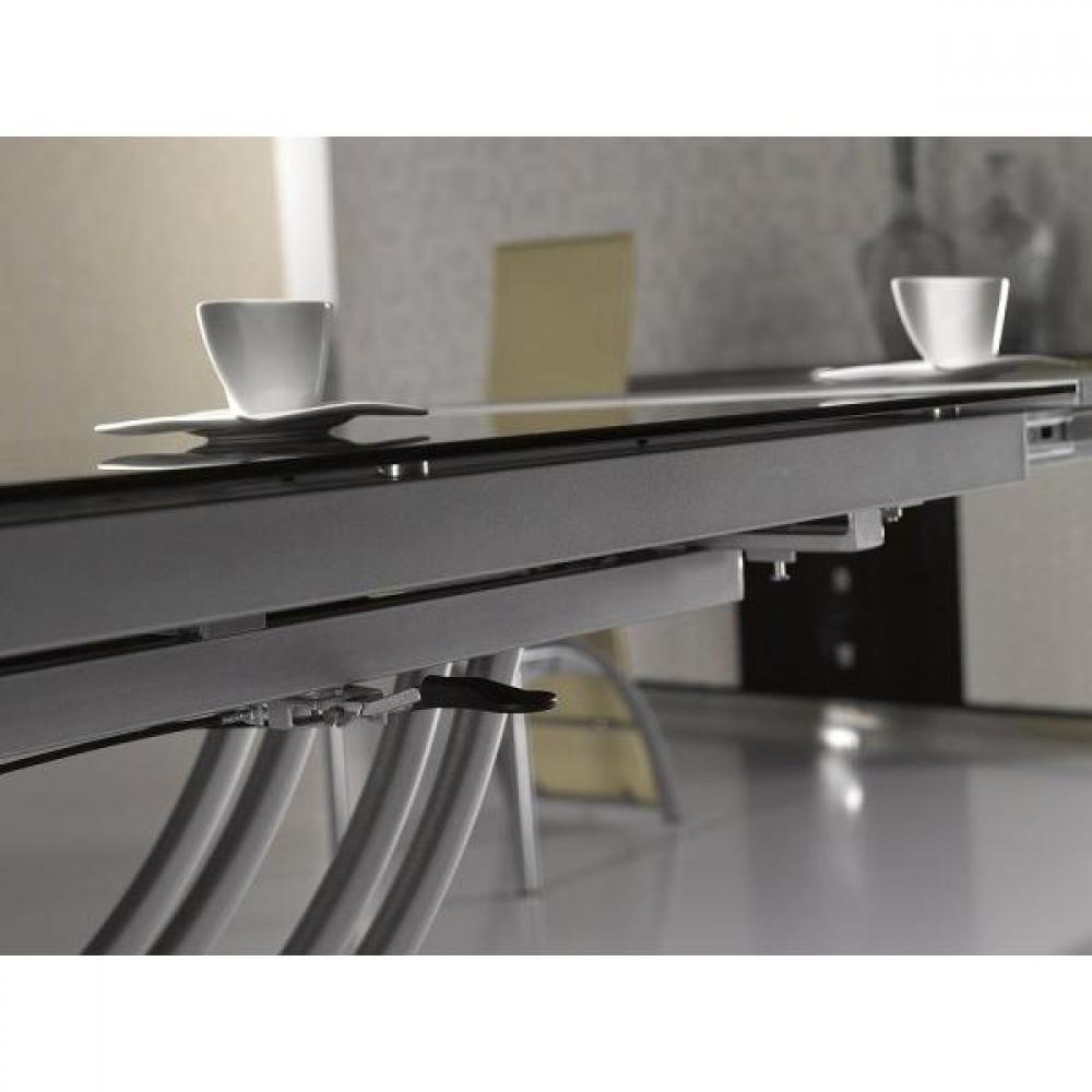 Tables relevables tables et chaises table basse form relevable extensible plateau en verre - Table basse relevable noire ...