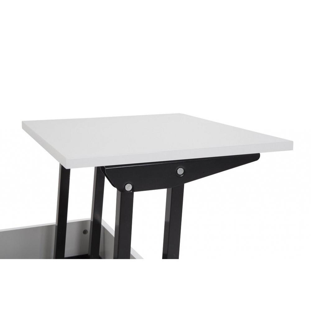 Table Relevable Blanche Maison Design