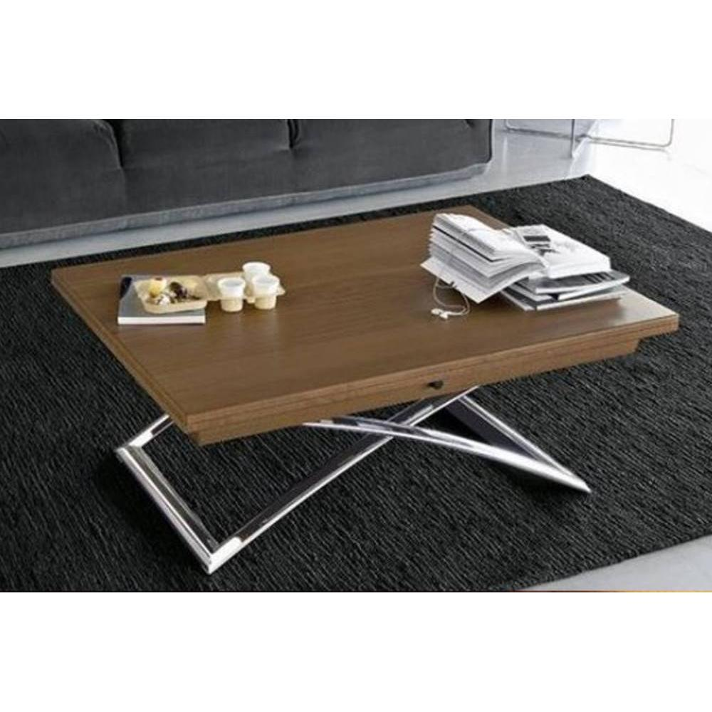 Tables relevables tables et chaises calligaris table for Table basse bois relevable