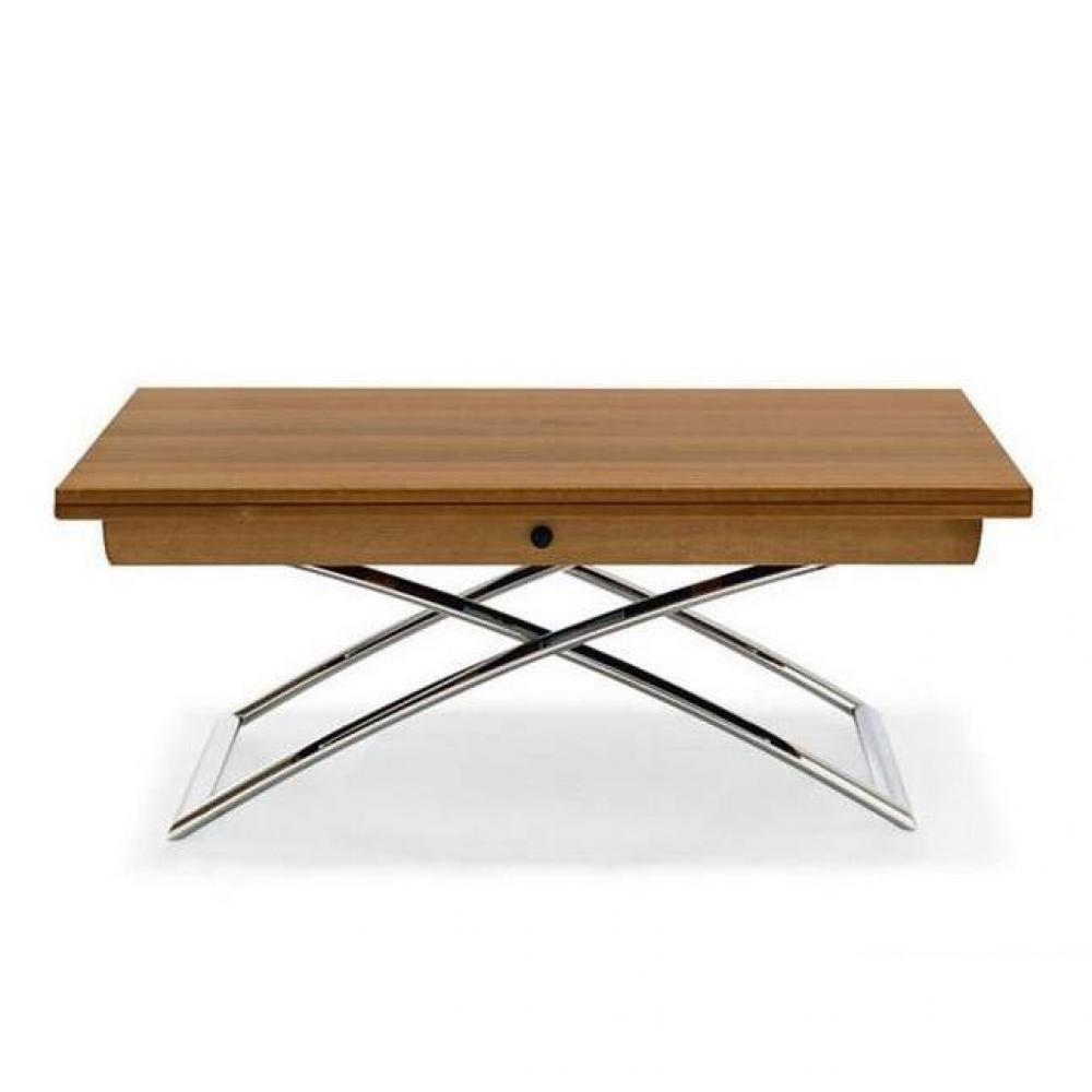 Table salon relevable extensible - Table basse convertible en table u00e0 manger ...