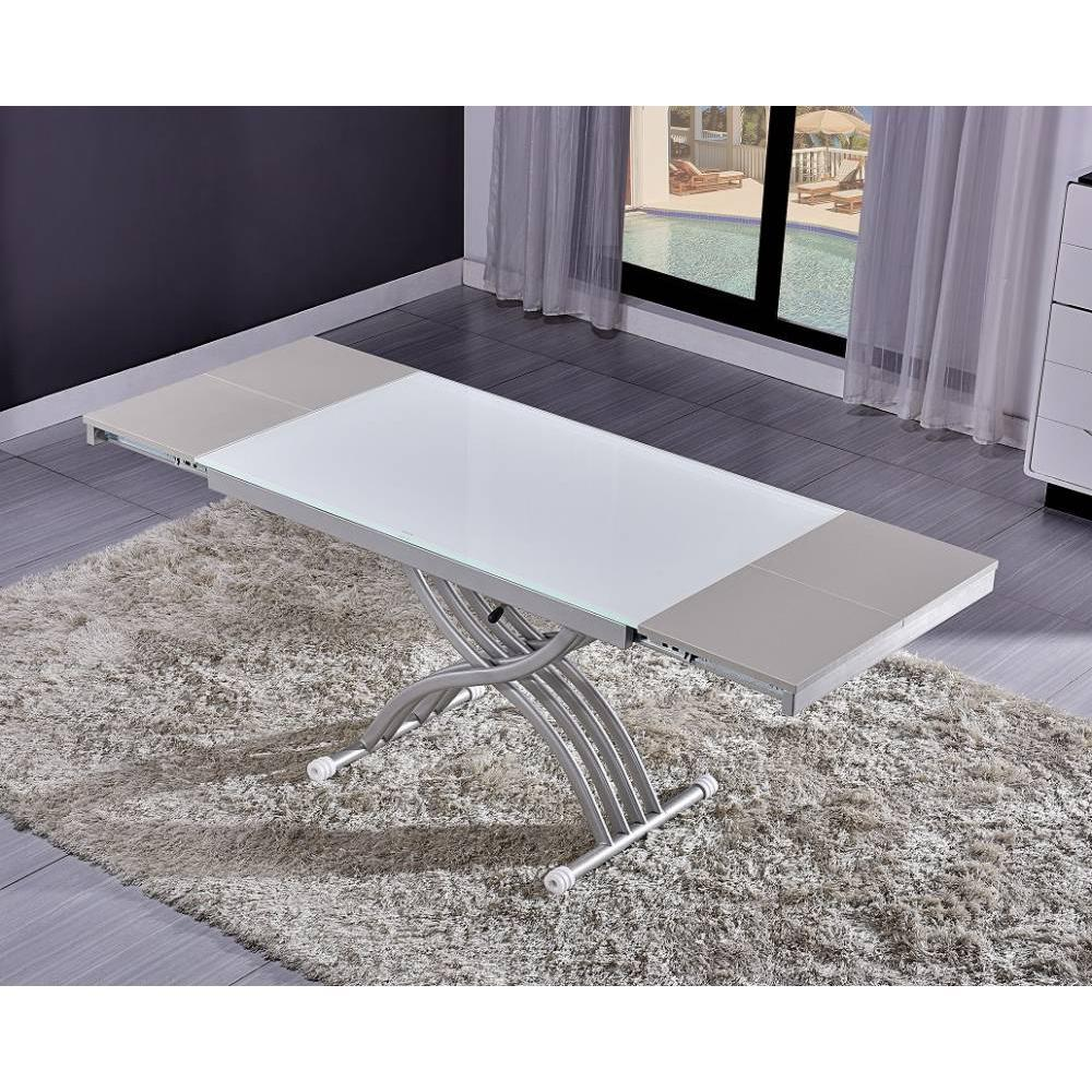 Tables relevables tables et chaises table basse newform for Table basse relevable solde