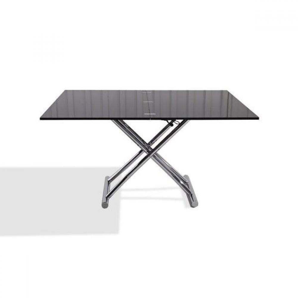 Tables basses tables et chaises table basse relevable extensible high and l - Petite table basse relevable ...