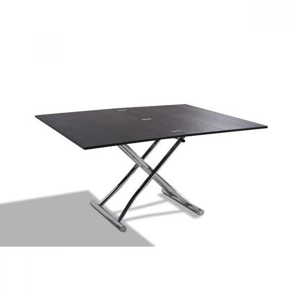 Tables basses tables et chaises table basse relevable extensible high and low weng petite - Table basse relevable wenge ...