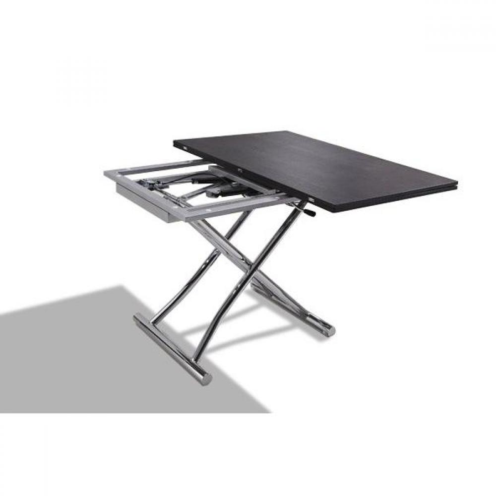 Table Basse Galet Lumineux Conforama ~ Table Basse Relevable Extensible HIGH And LOW Weng? Petite Taille
