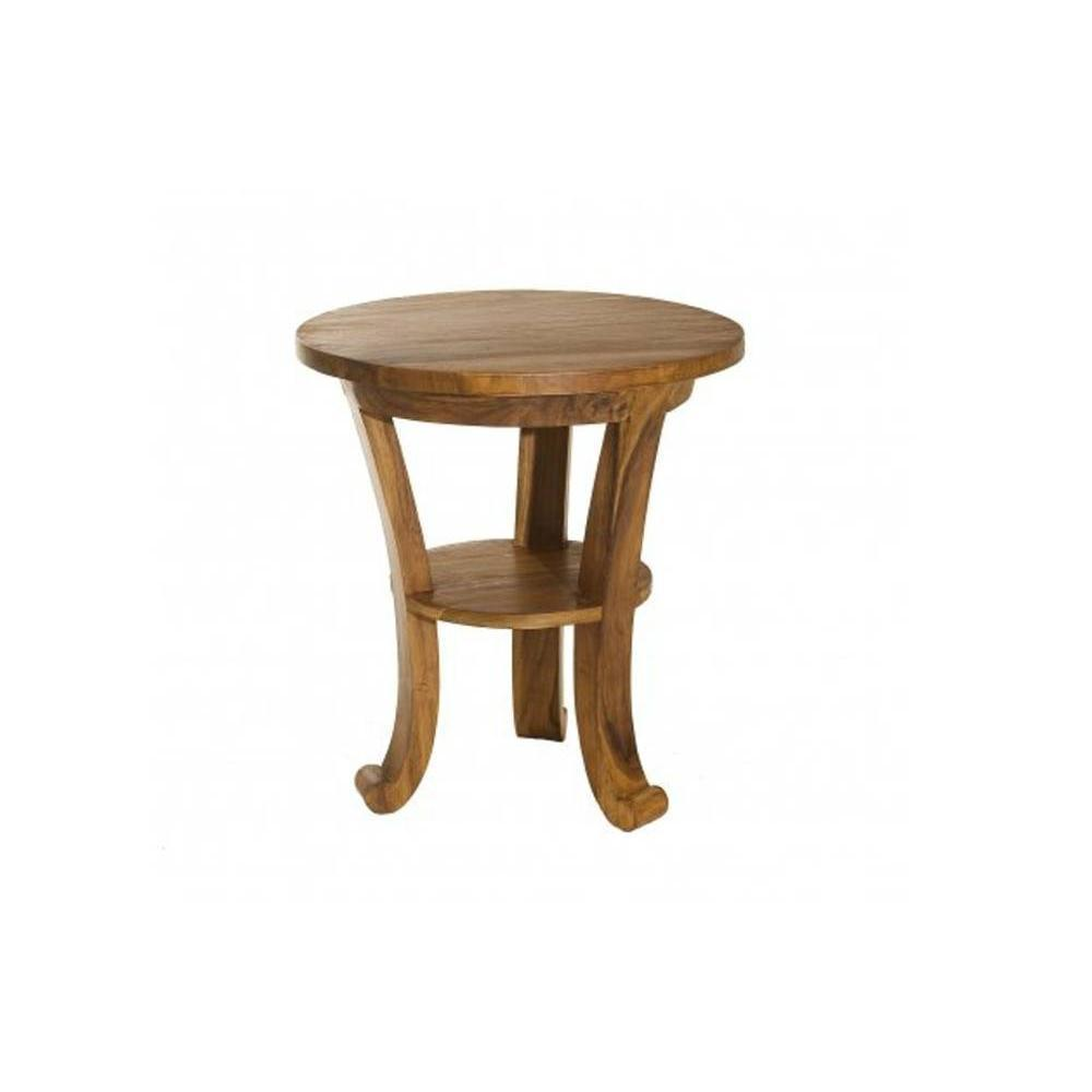 Tables basses meubles et rangements table basse style colonial en teck mass - Table basse teck massif ...