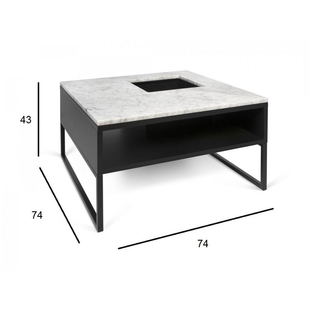 Tables basses tables et chaises temahome table basse - Table basse marbre blanc ...
