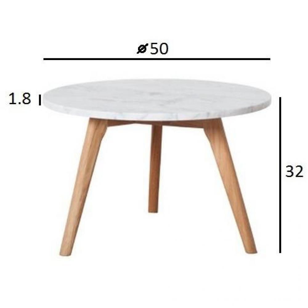 Tables basses tables et chaises zuiver table basse stone - Modele table basse ...