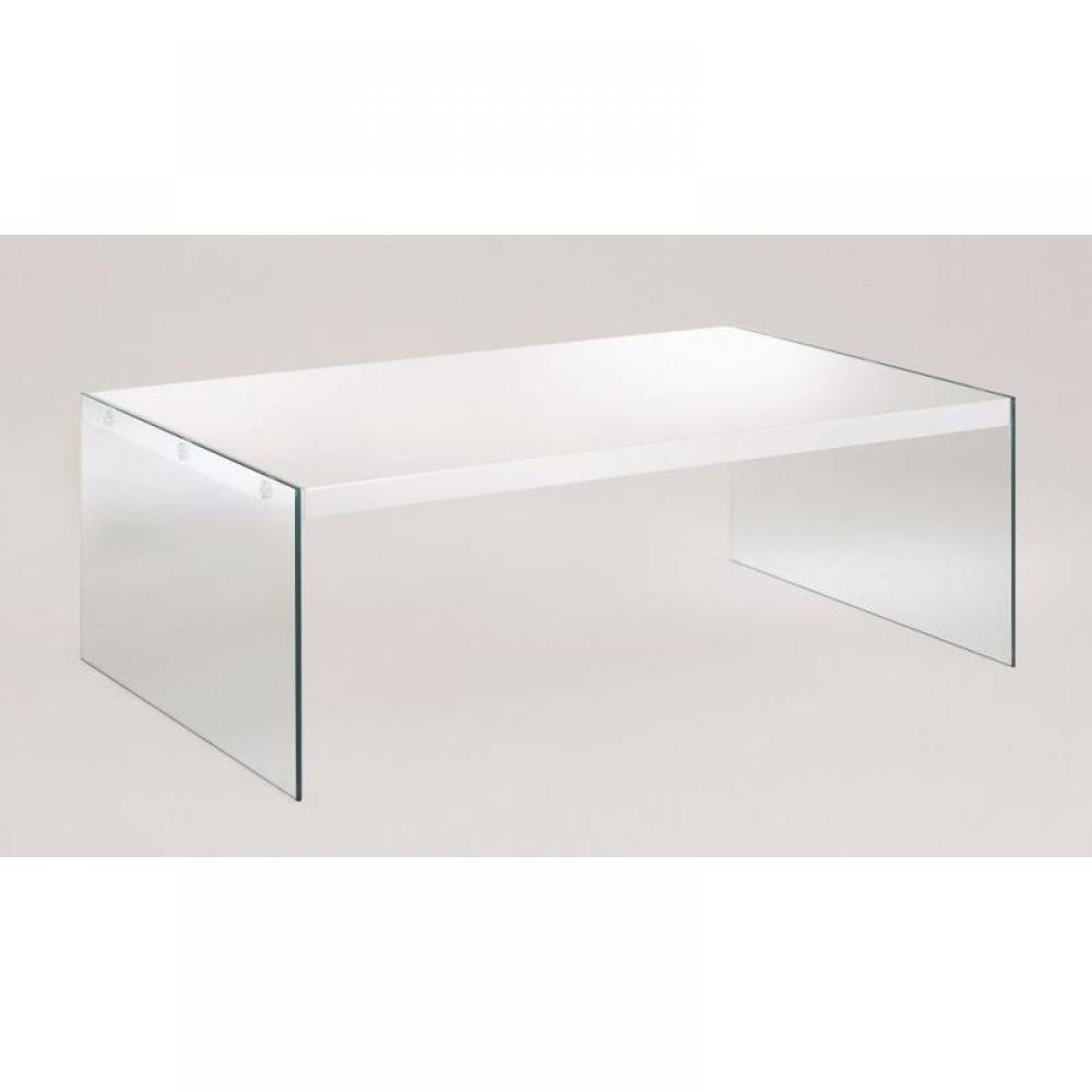 Tables basses tables et chaises table basse oceane en verre - Tables basses en verre ...