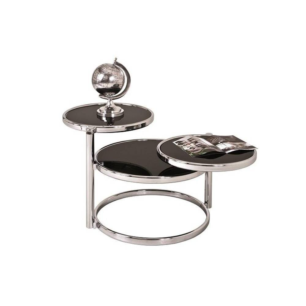 Tables basses tables et chaises table basse venda en verre teint noir i - Table basse verre noir ...