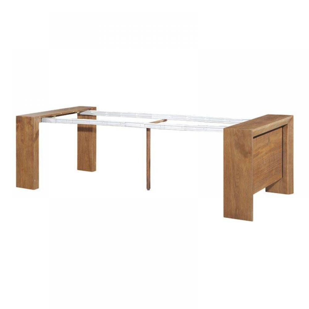 consoles tables et chaises misty table repas console extensible noyer design inside75. Black Bedroom Furniture Sets. Home Design Ideas