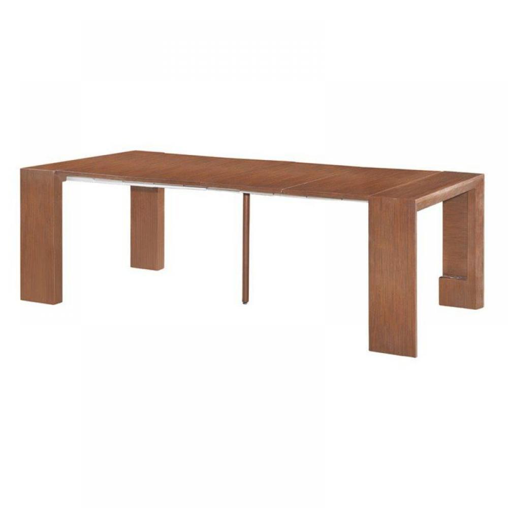 consoles extensibles meubles et rangements misty table repas console extensible zebrano design. Black Bedroom Furniture Sets. Home Design Ideas