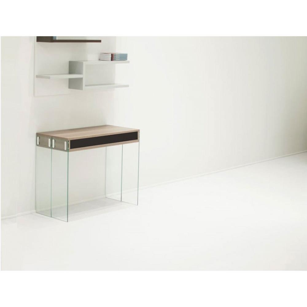 Consoles extensibles tables et chaises table console for Table verre extensible