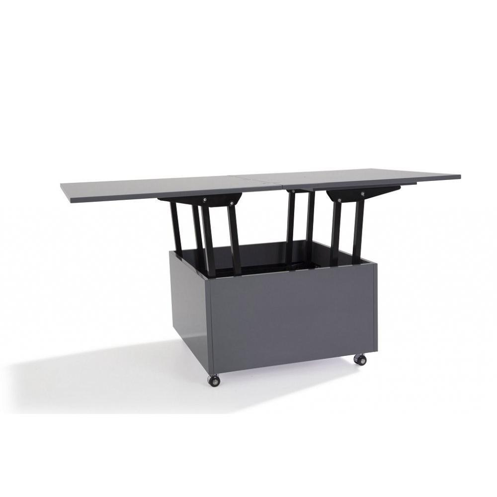 Tables relevables tables et chaises table basse relevable extensible giani grise inside75 - Table extensible relevable ...