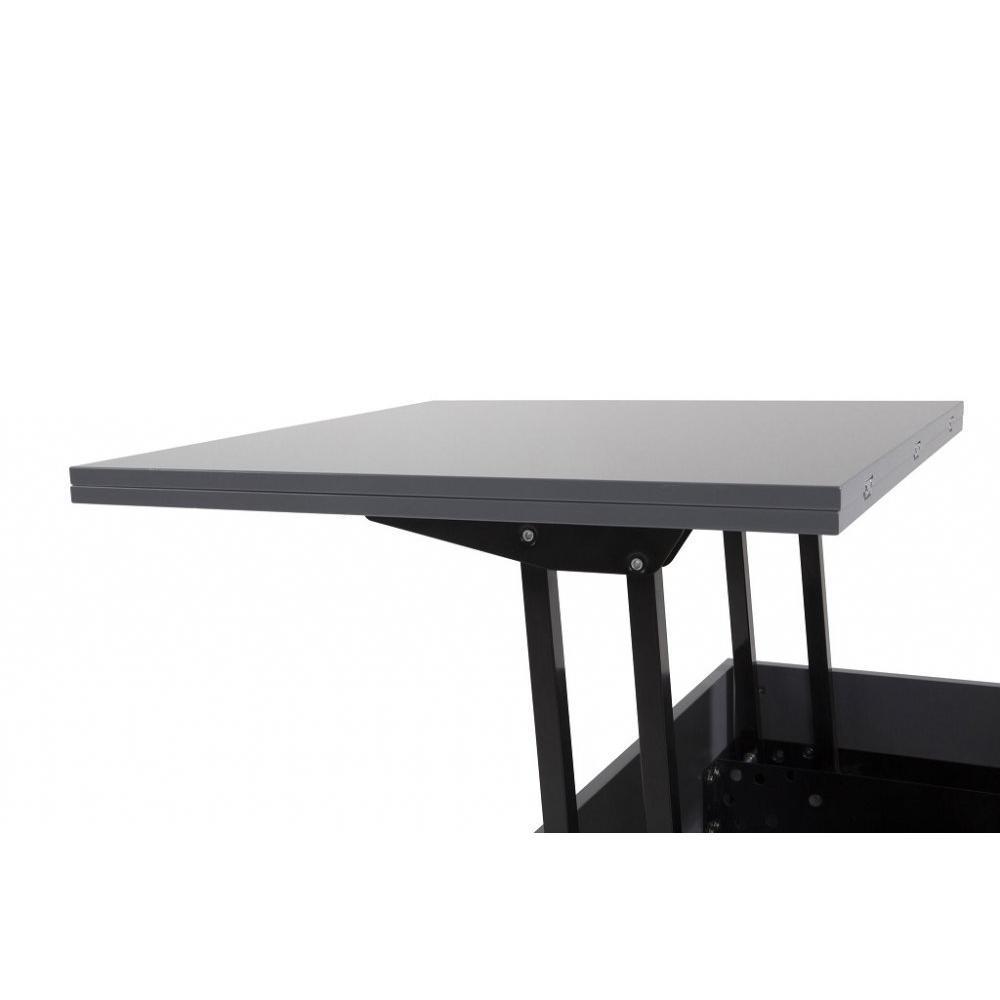 Canap s convertibles canap s et convertibles table basse relevable extensib - Table extensible grise ...