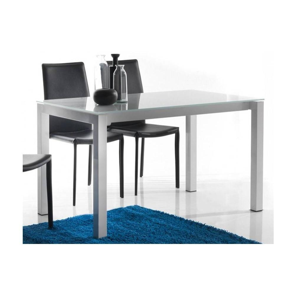 tables repas tables et chaises table repas extensible jumper blanche inside75. Black Bedroom Furniture Sets. Home Design Ideas