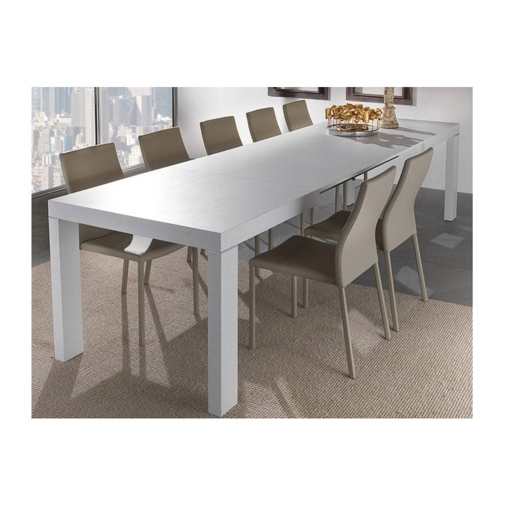 Tables extensibles tables et chaises table repas for Table de repas design extensible