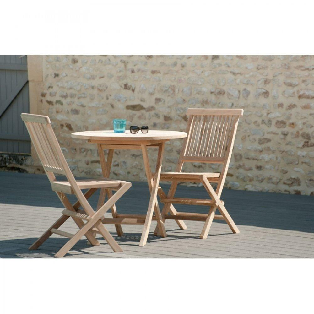 Tables tables et chaises table ronde pliante de jardin - Table ronde 80 cm ...