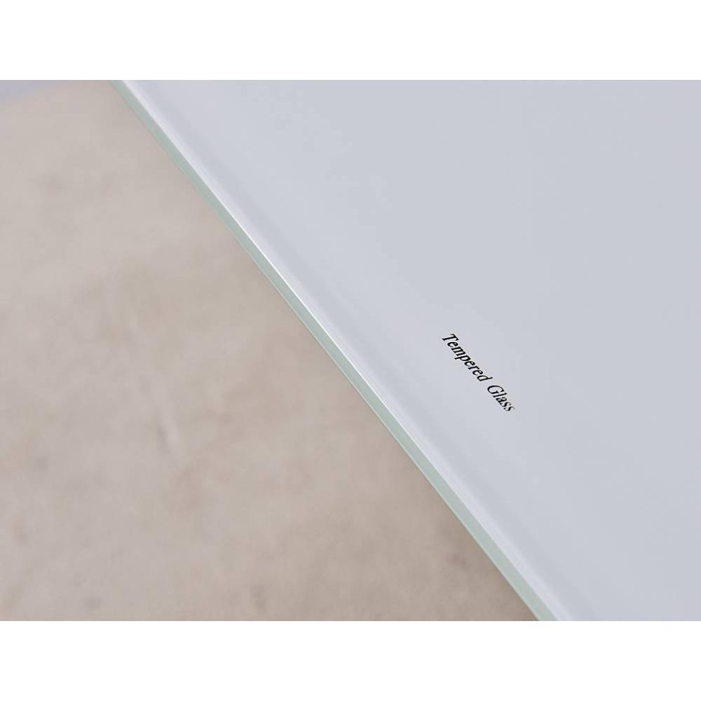 Table basse verre serigraphie - Table basse relevable transparente ...