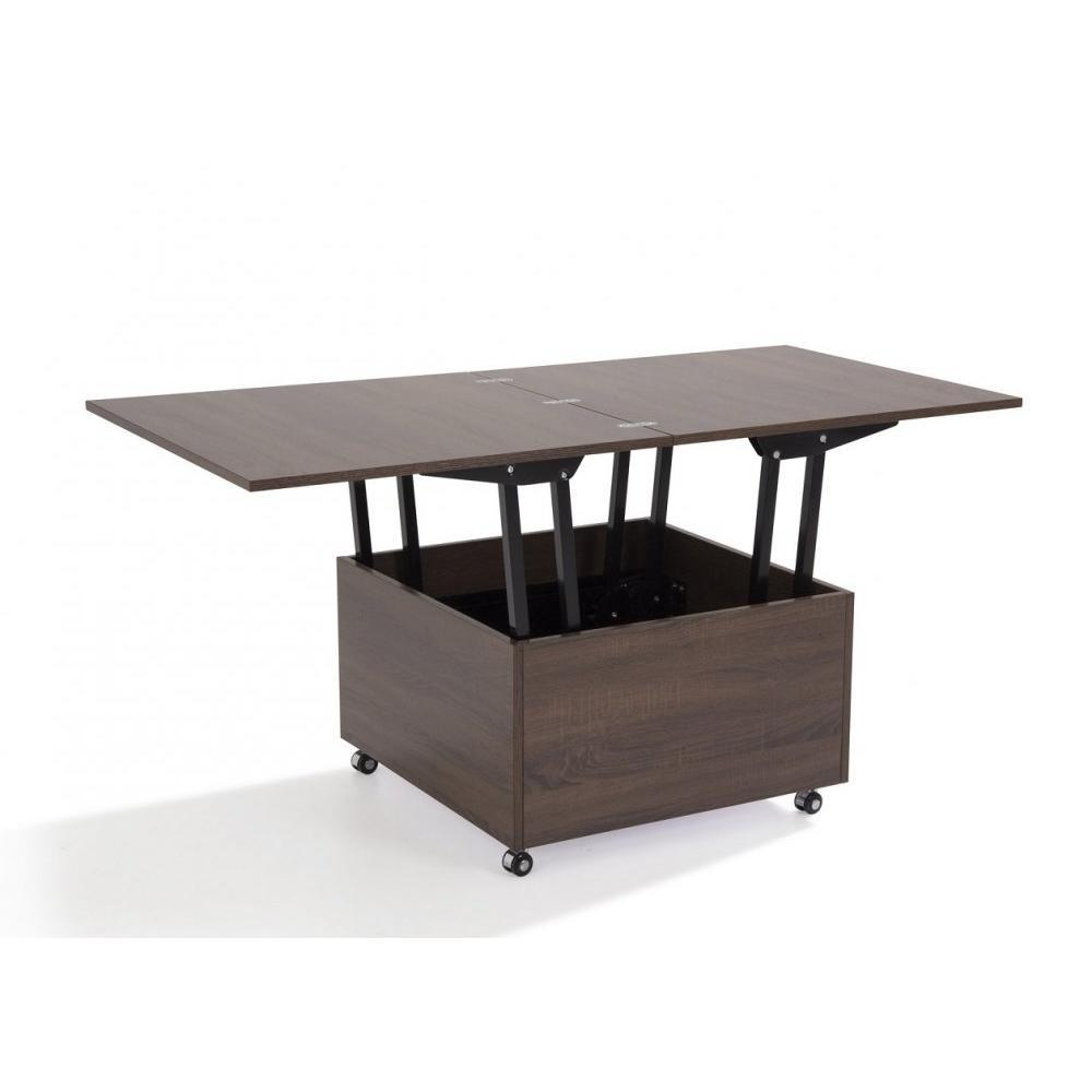 Table basse but wenge maison design - Tables relevables extensibles ...