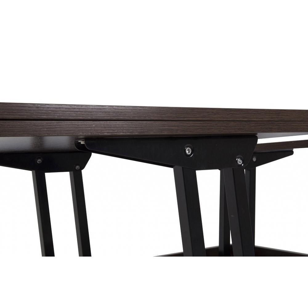 Tables relevables tables et chaises table basse relevable extensible giani - Table extensible wenge ...
