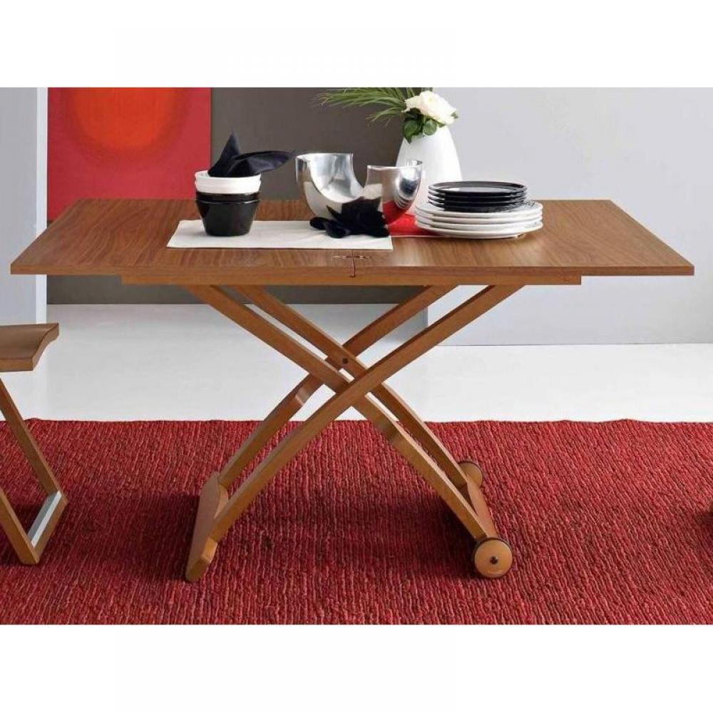 Table basse relevable merisier - Table basse merisier ...