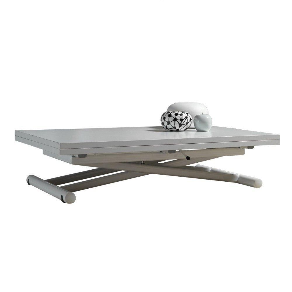 Tables relevables tables et chaises table basse - Table basse relevable blanche ...