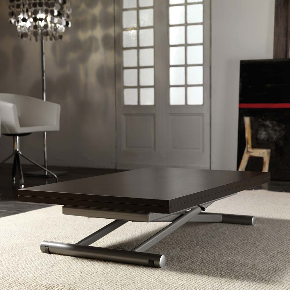 Tables relevables tables et chaises table basse relevable extensible lift wood weng inside75 - Table basse relevable wenge ...
