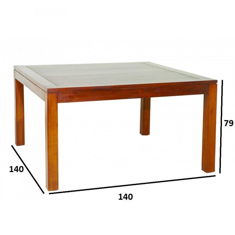 tables tables et chaises table repas lauren 140 x 90 cm en mindi. Black Bedroom Furniture Sets. Home Design Ideas