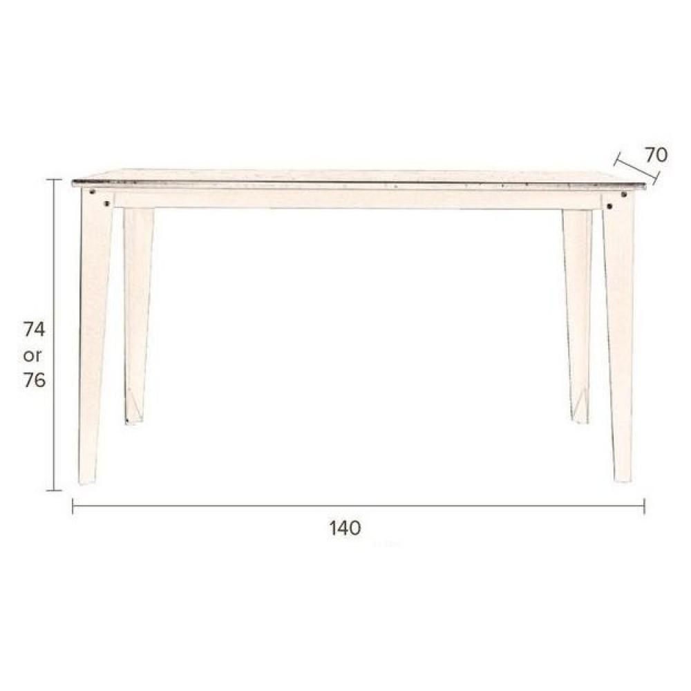 Tables repas tables et chaises dutchbone table repas for Table 140 x 70
