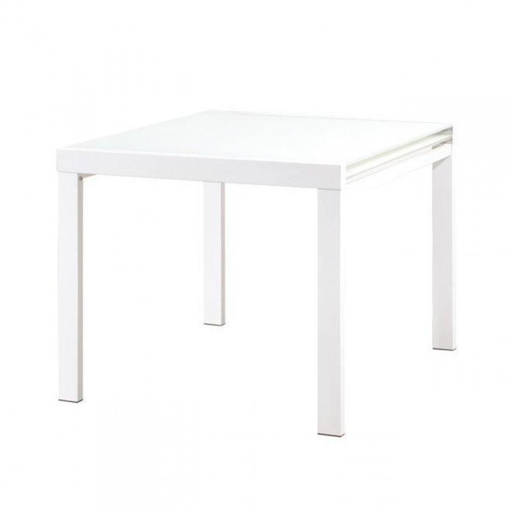 Tables repas meubles et rangements universe table repas extensible carr e design Table de jardin extensible belgique