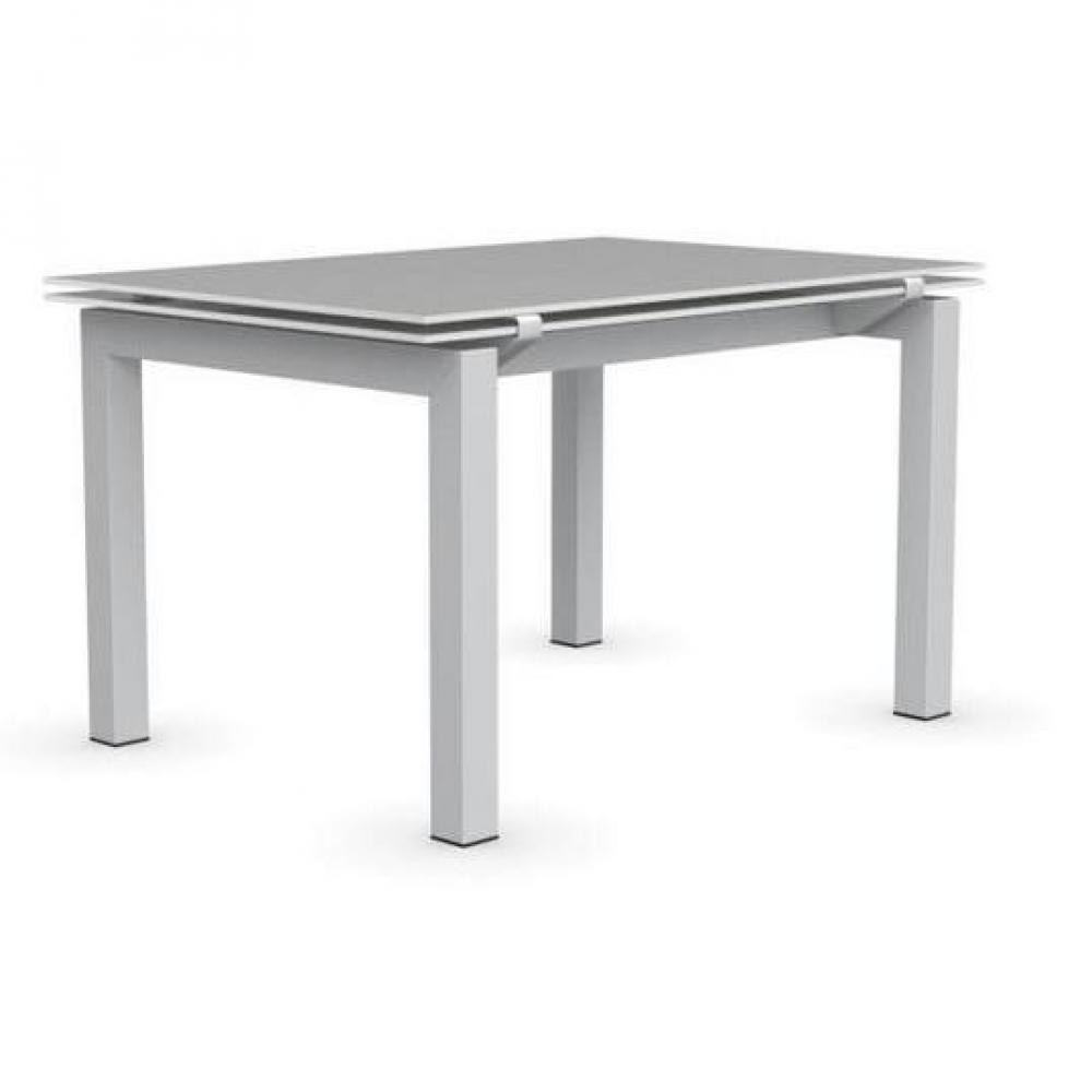 Tables tables et chaises calligaris table repas for Table extensible verre blanc