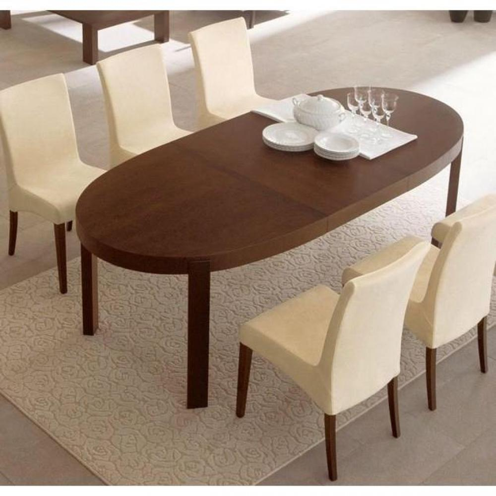 Tables tables et chaises calligaris table repas extensible ovale atelier 17 - Table ovale extensible design ...