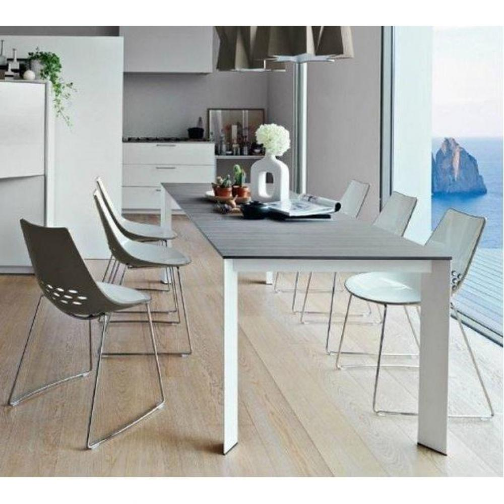 Tables repas tables et chaises table repas extensible for Calligaris baron table
