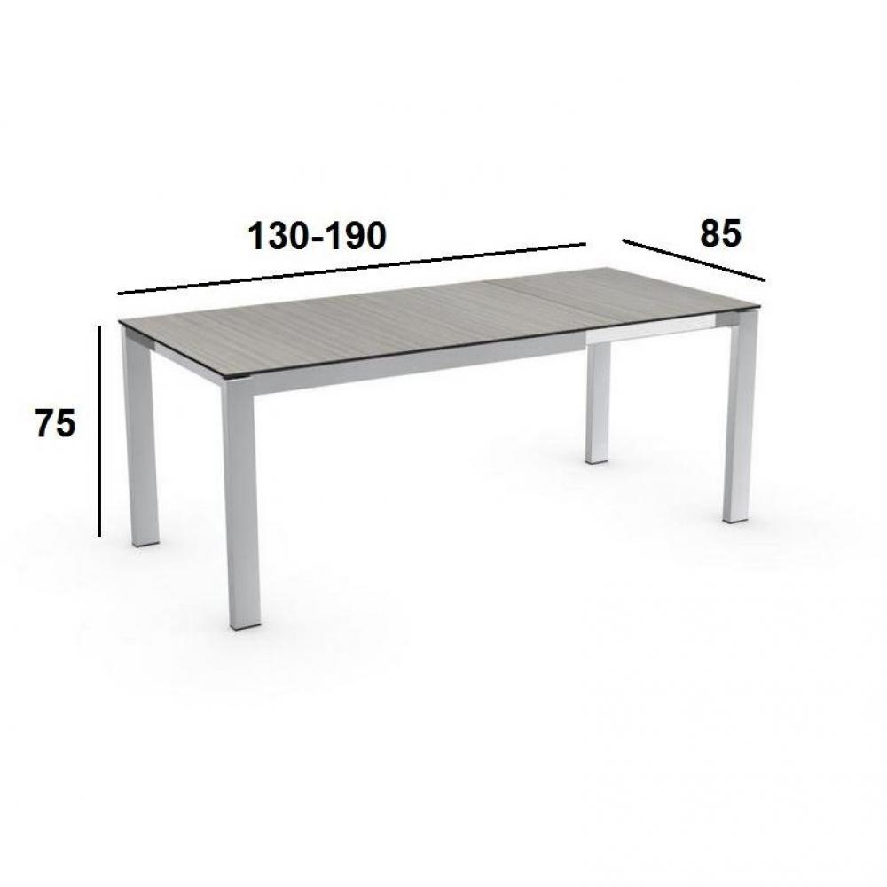 Tables extensibles tables et chaises calligaris table for Table extensible calligaris