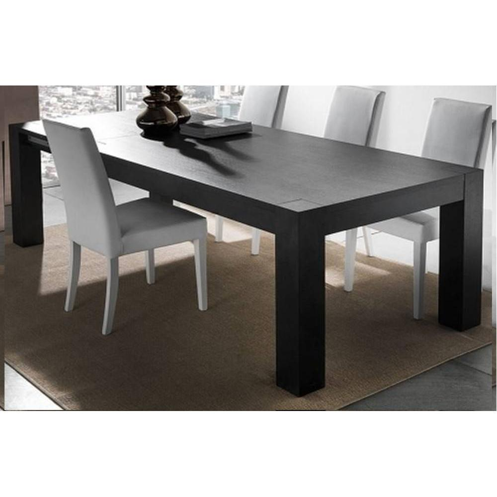 Tables repas tables et chaises table repas extensible contemporaneo weng - Table extensible wenge ...