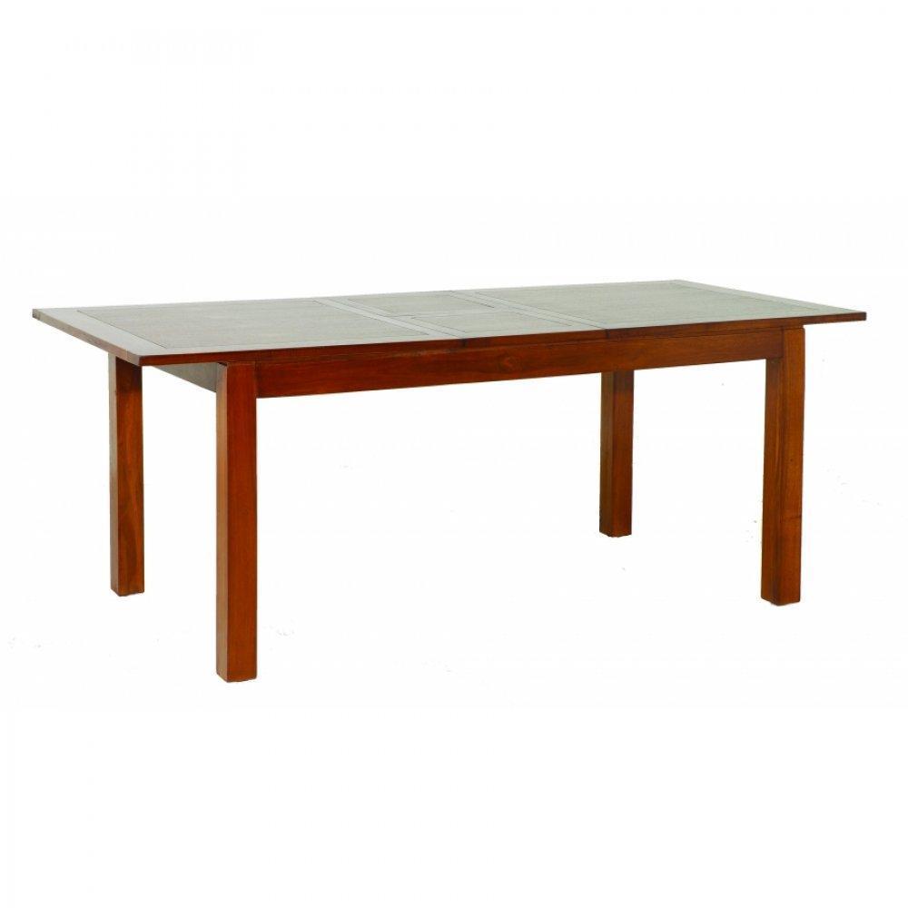 Tables tables et chaises table repas lauren 160 200 x 90 - Chaise pour table 90 cm ...