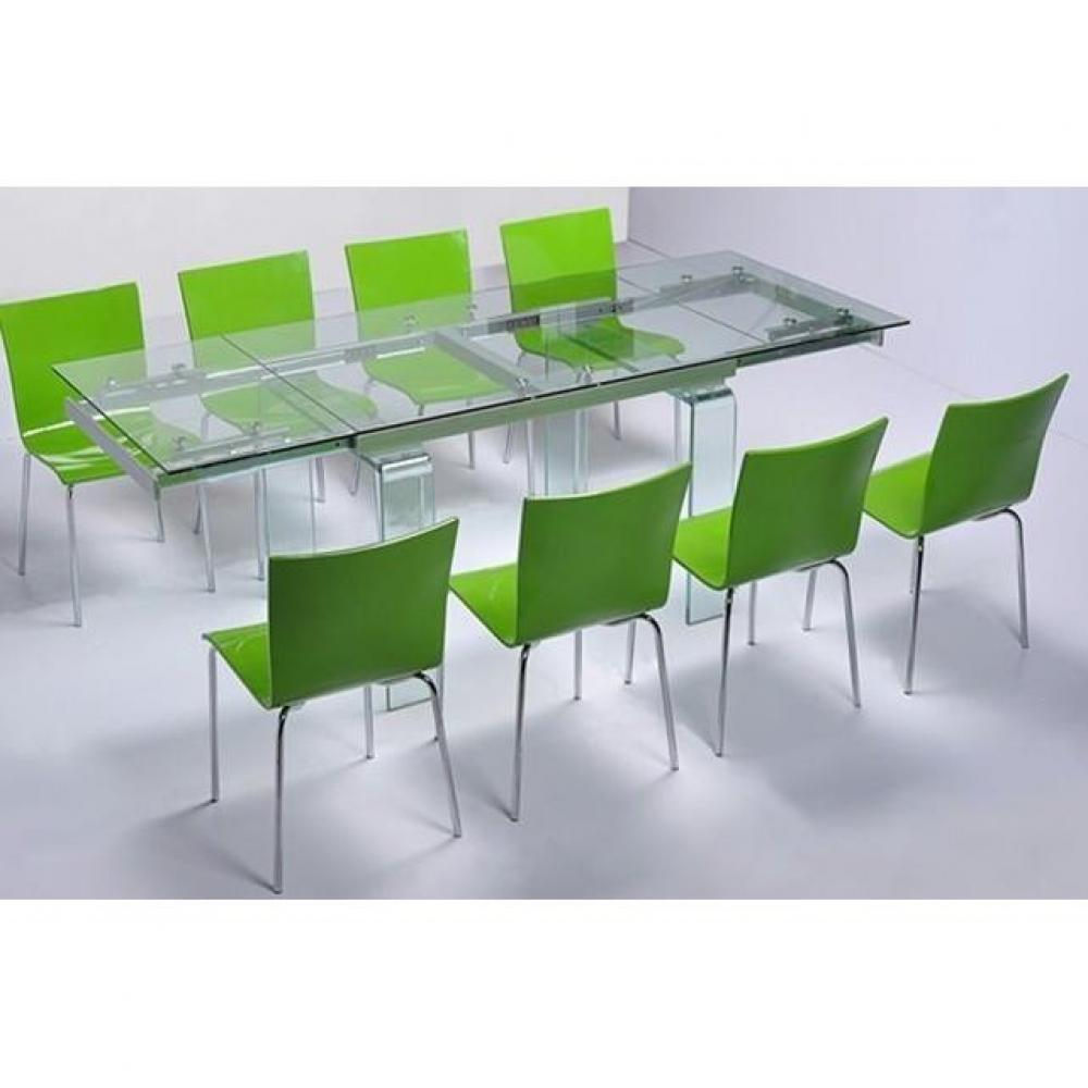 Tables extensibles tables et chaises table design extensible vitro extra la - Table design extensible ...