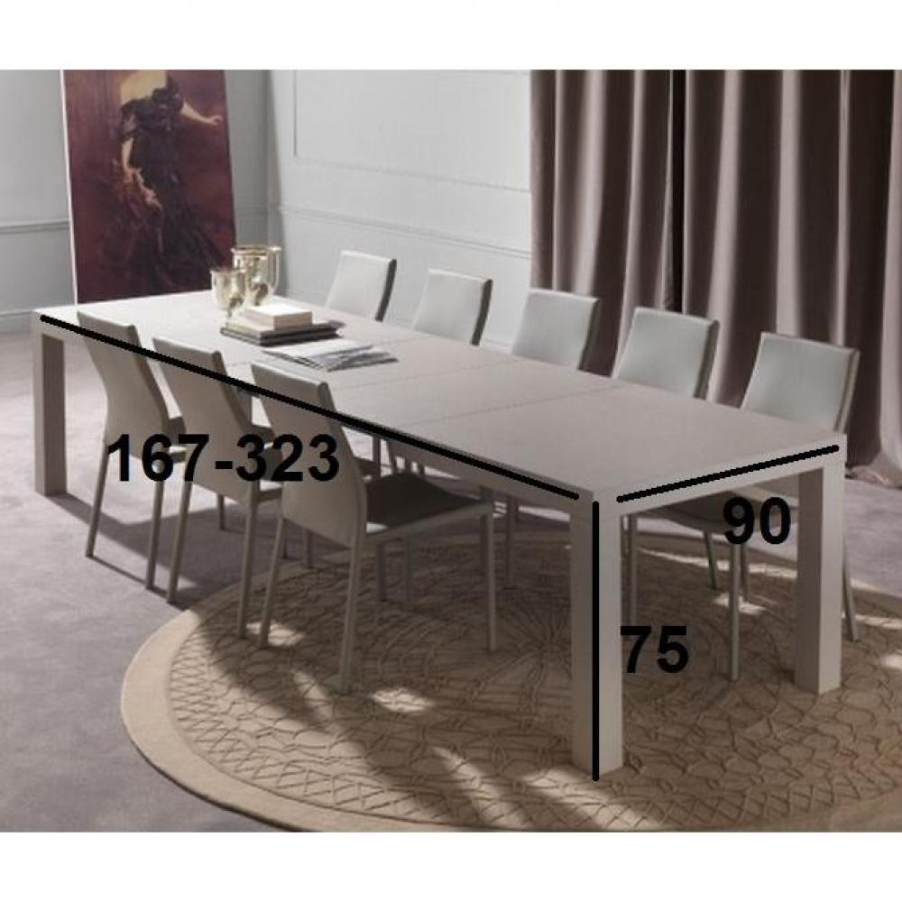 Tables extensibles tables et chaises table repas - Table a manger taupe ...
