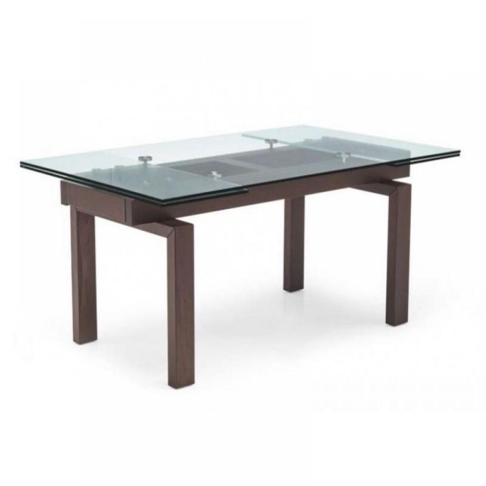 Tables repas tables et chaises calligaris table repas - Table wenge verre ...