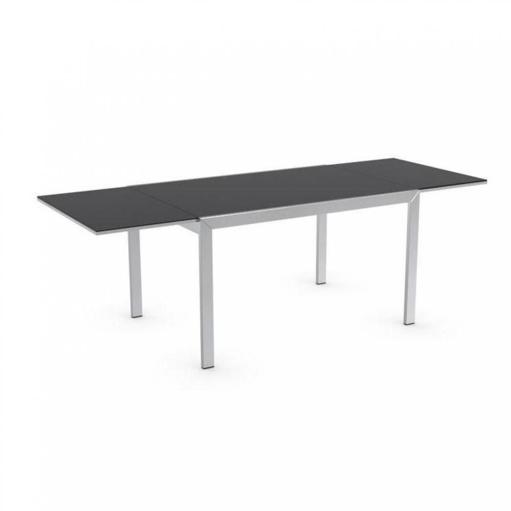 Tables tables et chaises calligaris table repas - Table verre noir extensible ...