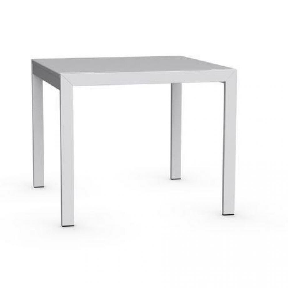 tables repas tables et chaises calligaris table repas extensible key 90x89 en verre inside75. Black Bedroom Furniture Sets. Home Design Ideas
