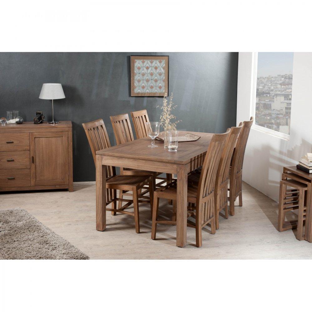 Tables extensibles tables et chaises table repas laura - Chaise pour table 90 cm ...
