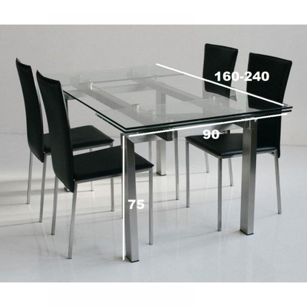 Tables repas tables et chaises table repas extensible for Table extensible 75 x 75